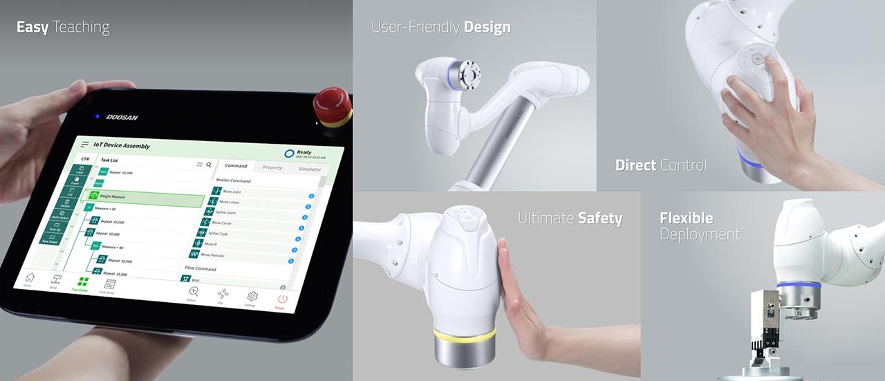 Doosan Robot UX | Cognitive UX